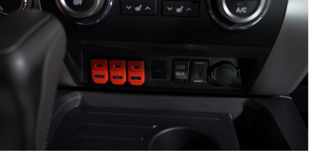 NSV LED Light Bar Single Switch Update   2020+ Toyota Tundra