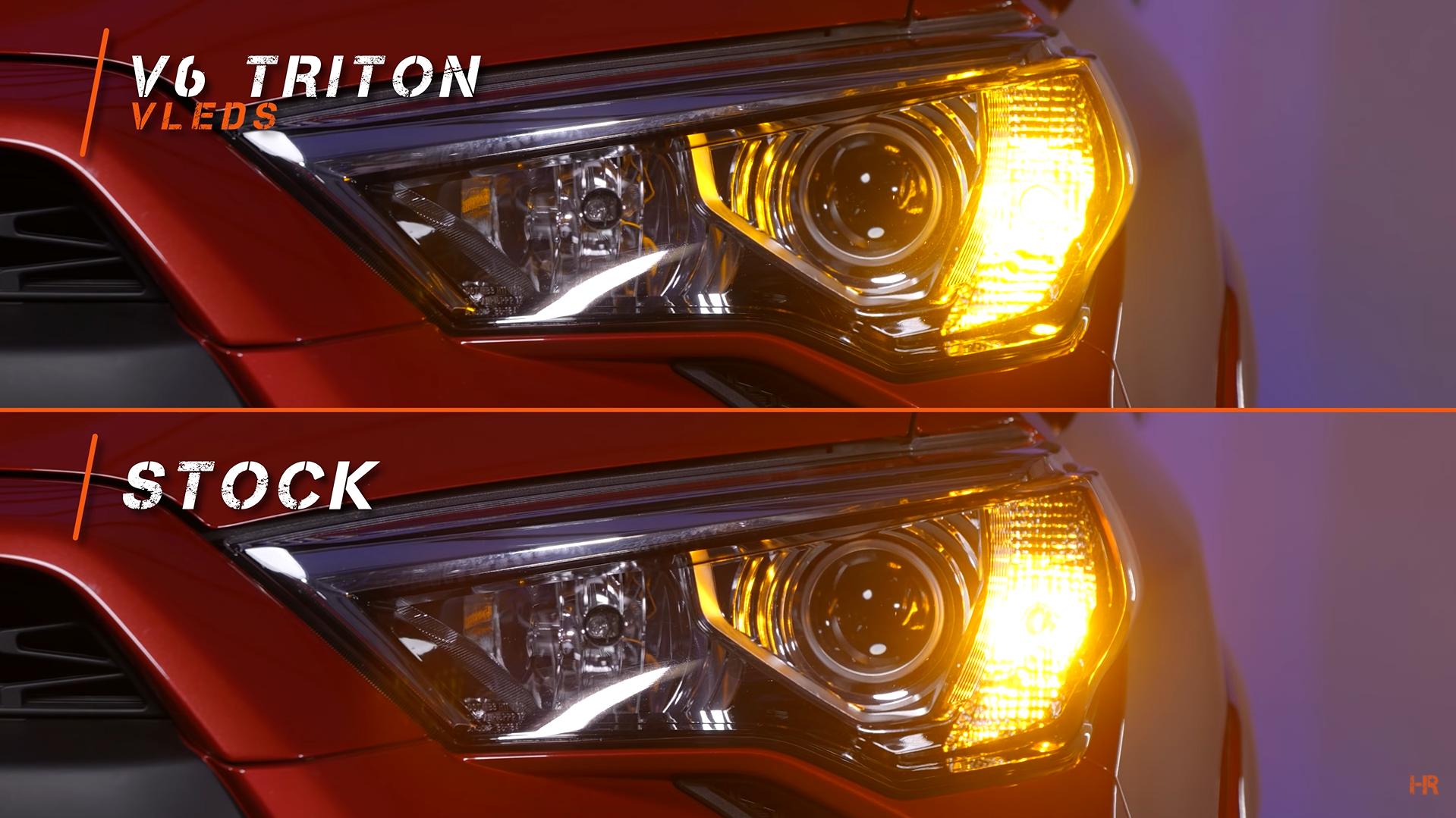 VLEDa V6 Triton comparison Stock Signal